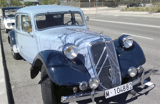 JOSÉ FERNANDO RINCON MUÑOZ Socio Club Citroën Tracción 15 Six Año 1948, Madrid