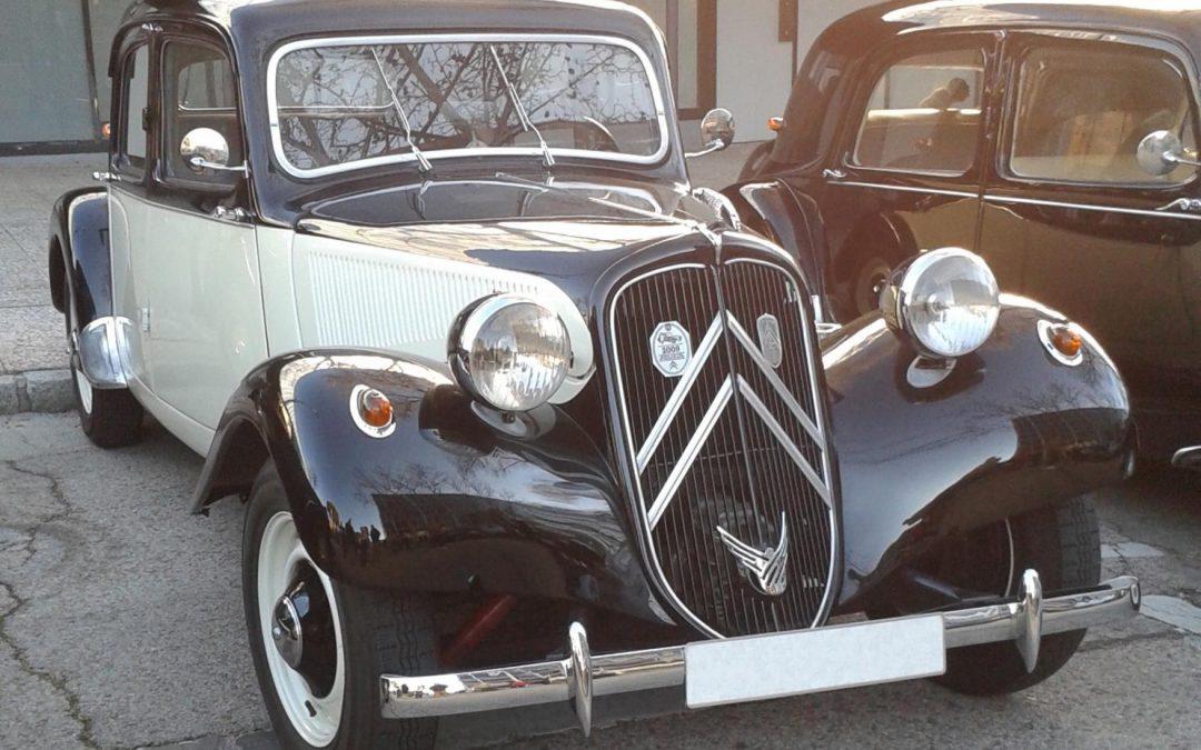 RICHARD MOUNE Socio Club Citroën Tracción 11BL Año 1952, Madrid