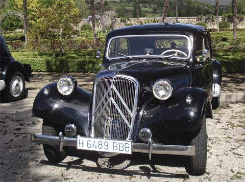 FEDERICO FERNANDEZ SANCHEZ Socio Club Citroën Tracción 11B Año 1956, Madrid
