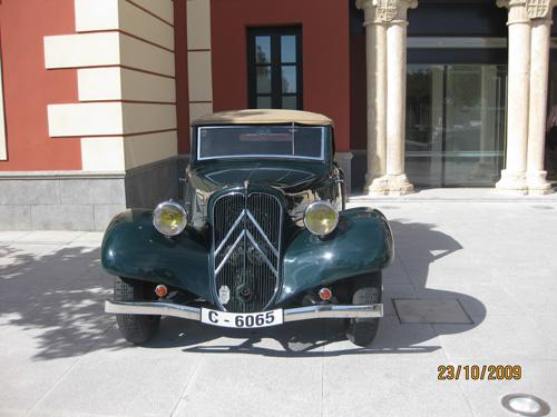 ENRIQUE MARTÍ MINGARRO Socio Club Citroën Tracción 11BL cabrio Año 1937, Madrid
