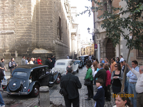 ANTONIO JOSÉ NIETO GIMENEZ Socio Club Citroën Tracción 11B Año 1951, Murcia